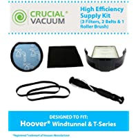 Replacement for Hoover WindTunnel T-Series Bagless Uprights, Compatible With Part # 303173001, 303172001, 902404001 & 303202001, by Think Crucial