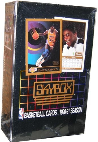 990/91 Skybox Series 1 Basketball Wax Box UNOPENED FACTORY SEALED ()