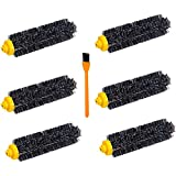 6 Pcs Roomba 650 770 Bristle Brushes Kit , Hongfa Replacement for iRobot Roomba 600 700 Series 650 620 630 660 680 760 770 780