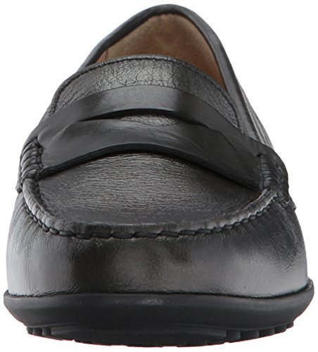 Women's 5 Gun Slip Anthracite Geox Loafer Elidia On RvnCdwqS
