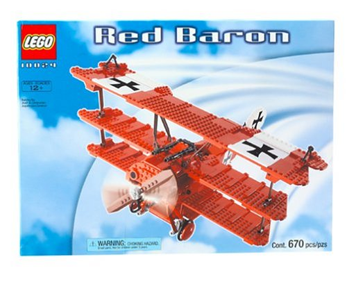 Red Baron Triplane (LEGO: Red Baron)