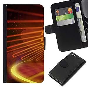 KingStore / Leather Etui en cuir / Apple Iphone 5C / Galaxia digital