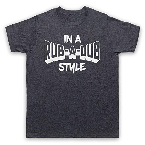 T Clothing A Hommes amp; Dub Reggae My shirt Style In Ardoise Jamaican Classique Art Rub Des Icon Music 4txnq7