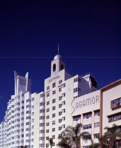 Photography Poster - The Sagamore art deco hotel on Ft. Collins Avenue in Miami Beach Florida 16