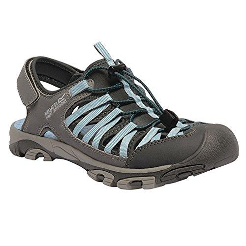 Regatta Great Outdoors - Zapatillas deportivas modelo Eastshore Active para mujer Briar / Light Jade
