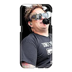 Anti-Scratch Hard Phone Covers For Samsung Galaxy S6 (oSL10601XcNg) Customized Colorful Bowling For Soup Band Skin