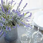 Butterfly-Craze-Artificial-Lavender-Plant-with-Silk-Flowers-for-Wedding-Decor-and-Table-Centerpieces-4-Piece-Bundle