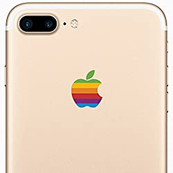 If you like retro stuff, then you'll love this special retro Apple logo decal for the iPhone 7 Plus. The intricate cut and styling of this vinyl decal will make everyone go AWE once they lay their eyes on this bad-boy. Get yours today and change the ...