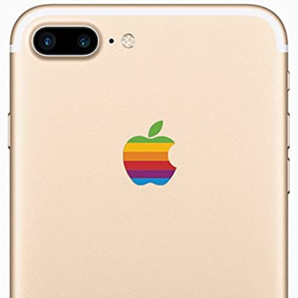 Retro apple iphone 7 plus decal sticker for the iphone 7 plus