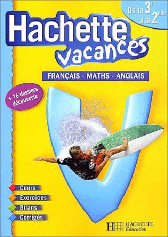 cahier de vacances 2nde vers 1ere