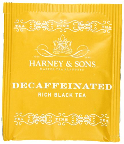 - Harney & Sons Black Tea, Decaffeinated, 50 Tea Bags