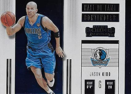 381333270 2017-18 Panini Contenders Hall of Fame Contenders  16 Jason Kidd NM-MT