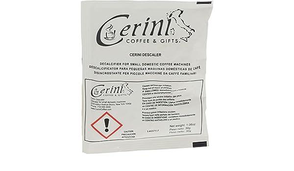 Amazon.com: Quality Espresso Machine Descaler by Cerini Coffee (25 pack): Kitchen & Dining