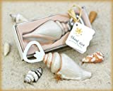 Shore Memories' Sea Shell Bottle Opener with Thank you Tag – Total 24 sets For Sale