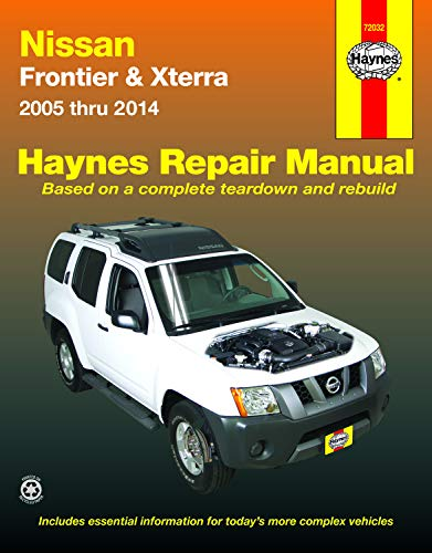 2014 Bolts - Nissan Frontier & Xterra 2005 thru 2014 (Haynes Repair Manual)