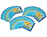 American Greetings Pokemon Paper, 48-Count, Lunch Napkins