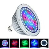 WYZM 12Volt 35Watt Color Changing LED Pool Light Bulb, Replacement for 500W Pentair and Hayward Fixture