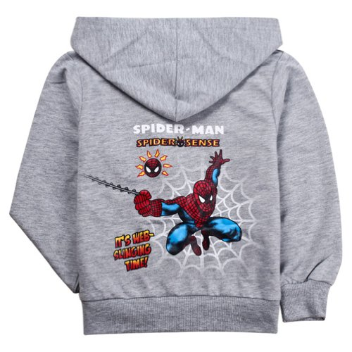 Little Hand Boys Hoodies Spiderman Coats