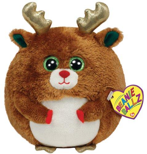 - TY Beanie Ballz Mistletoe - Reindeer