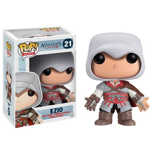 "Ezio: ~3.7"" Funko POP! Assassin's Creed Vinyl Figure"