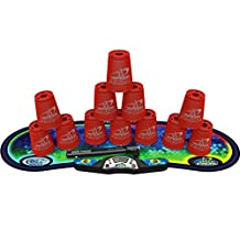 Speed Stacks Competitor Sport Stacking Set, Red
