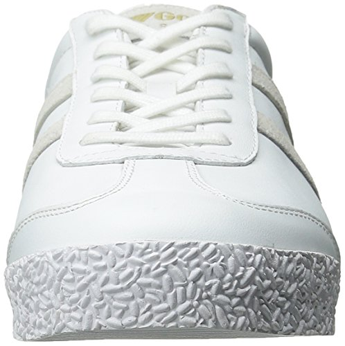 Gola Hombres Harrier Mono Fashion Sneaker Blanco
