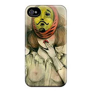 Flexible Tpu Back Case Cover For Iphone 4/4s - Miss Van