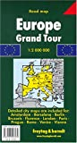img - for Europe Grand Tour Map book / textbook / text book