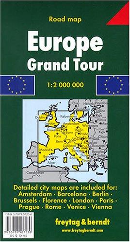 Europe Grand Tour Map