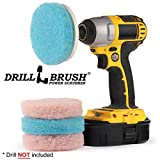 Drill Brush - Cleaning Supplies - Bathroom Accessories - Scrub Pads - Shower Cleaner - Bathtub - Bath Mat – Bathroom Sink - Scrubber - Hard Water Stain Remover - Glass Cleaner - Shower Door Cleaner