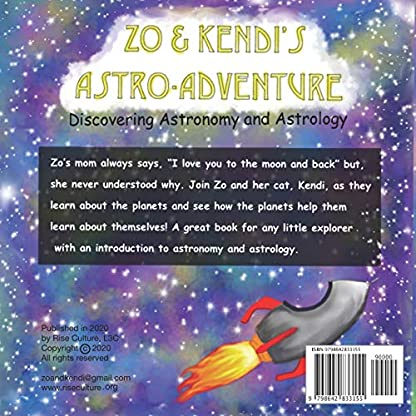 Zo & Kendi's Astro Adventure: Discovering Astronomy & Astrology