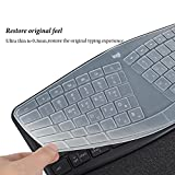 Keyboard Cover Skin Compatible with Logitech Ergo