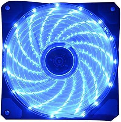 Chowceng 120mm LED Ultra silencioso Ventilador de Ordenador PC ...