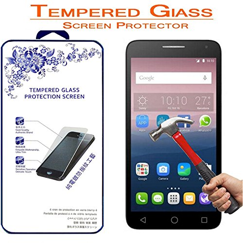 Tempered Glass For Alcatel Pop Touch 3 - 9
