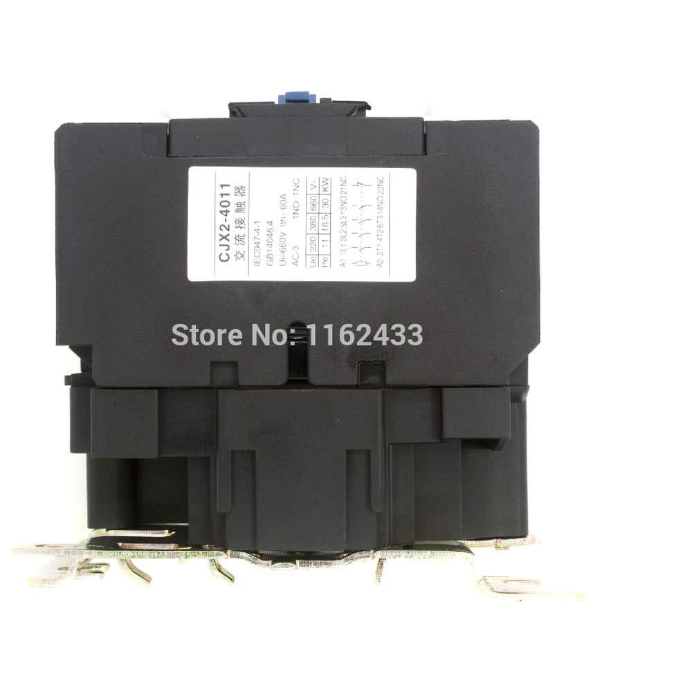 CJX2-4011 40A AC 48V 3P NO NC contactor CJX2-40 LC1-D40 Series 48VAC AC contactor