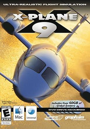 X-Plane 9 (Mac): Amazon co uk: PC & Video Games