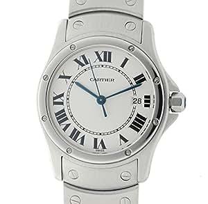 Cartier Santos de Cartier quartz mens Watch 1561 1 (Certified Pre-owned)