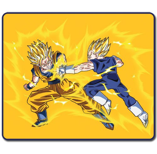 ainment Dragon Ball Z SS Goku Vs SS Vegeta Throw Blanket ()