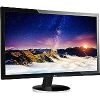 AOC Q2778VQE-B DVI+VGA+Display Port+HDMI 2560x1440 27 Monitor,Black(Certified Refurbished)