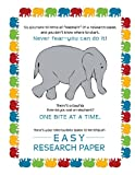 Easy Research Paper, Ceil Humphreys, 0985289724