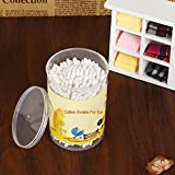 Cotton Buds 360pcs Baby Maternal Child Supplies for Grafted Eyelash Cleansing Agent Paste Special Swab Care Product Double-Head Thin Shaft Soft Stick 180pcs Long Wooden Swabs Cleaning Sterile Sticks
