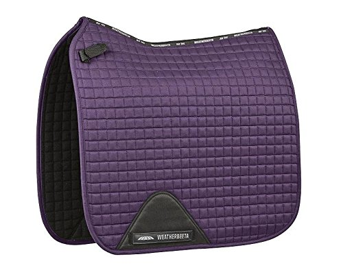 Weatherbeeta Prime Dressage Saddle Pad Purple Penant Full