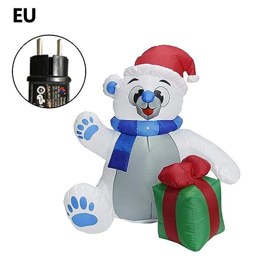Wovemster - Oso de Navidad Hinchable de 1,2 m, Modelo de muñeca ...