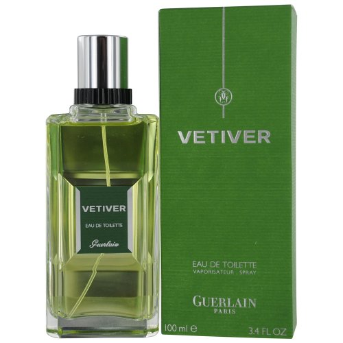 Guerlain Vetiver Eau De Toilette Spray for Men, 3.3 Ounce (Guerlain Cologne)