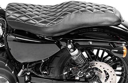 Selle Conducteur et Passager pour Harley Davidson Sportster 883 Iron XL 883 N 09-19 Craftride HS2
