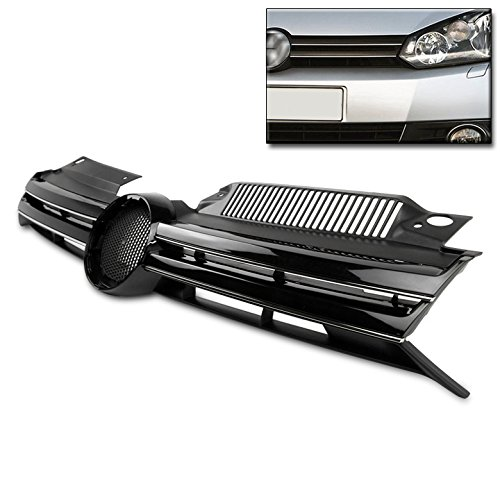 ZMAUTOPARTS VW Golf GTI/ Jetta MK6 Wagon Front Upper Hood Grille Grill Euro Style (Vw Golf Grill)