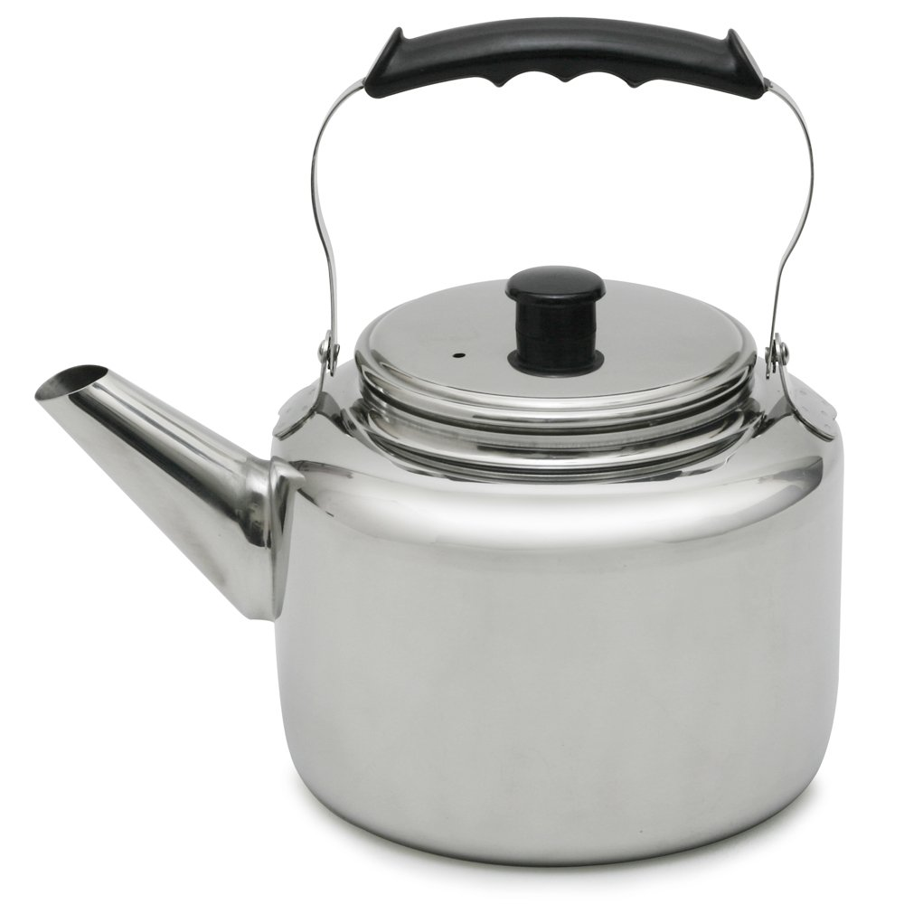Lindy's 45444 Stainless Steel Water Kettle, 5-1/4 quart