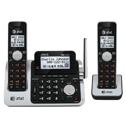 Att 2 Handset Answering System Dect 6.0 Digital