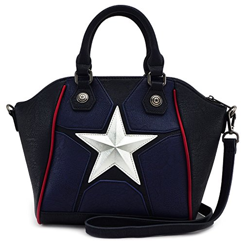 Loungefly Marvel Captain America Crossbody Bag