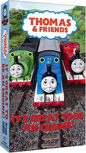 Thomas The Tank Engine and Friends - It's Great to Be an Engine [VHS]
